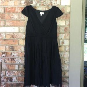 JCrew Black Formal Dress Size 12.
